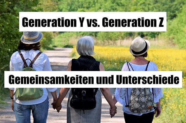 Generation Y vs. Generation Z